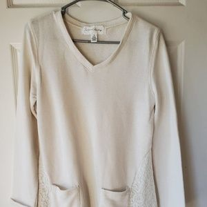 French Laundry Sweater Top Blouse Shirt Woman's